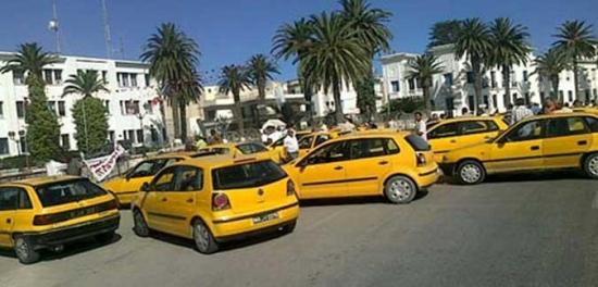 الغاء إضراب التاكسي الفردي المقرر يوم 15 جانفي الجاري