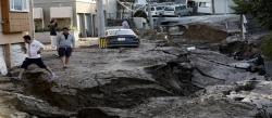 زلزال قوي يهز جزيرة ھوكايدو اليابانية مرة أخرى في أقل من شهر
