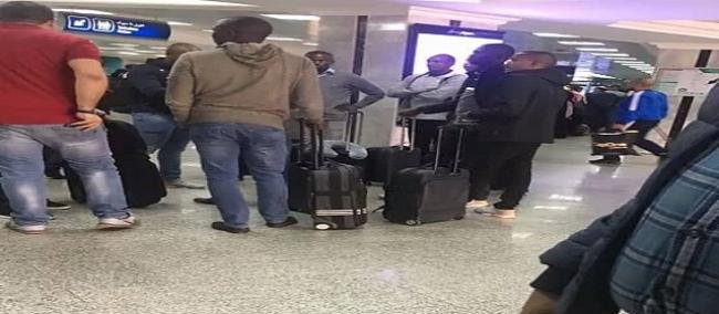 وصول طاقم التحكيم الإثيوبي بقيادة باملاك تيسيما إلى مطار تونس قرطاج
