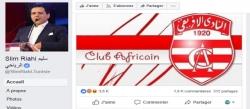 سليم الرياحي يرد على الإتهامات بإغراق النادي الإفريقي في الديون عبر صفحته الرسمية للفايسبوك