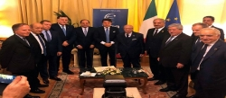مشاركة رئيس الجمهورية الباجي قايد السبسي في المؤتمر الدولي من أجل ليبيا بباليرمو