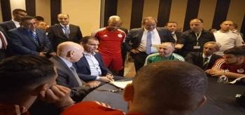 رئيس الجزائر عبد القادر بن صالح لمحاربي الصحراء: أحمل إليكم رسالة من 44 مليون جزائري فخورين بمساركم و روحكم القتالية