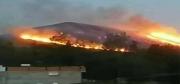 السيطرة على 95 بالمائة من الحريق الذي جد الثلاثاء بجبل عمار بسيدي ثابت