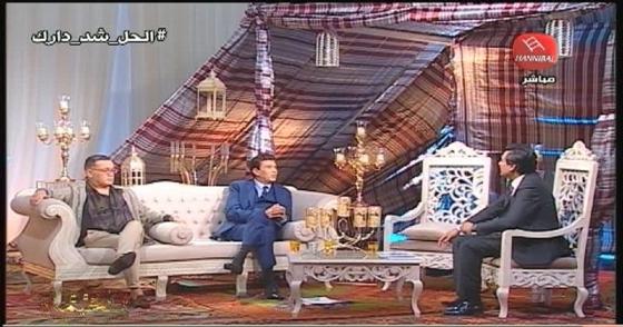 الخيمة سهرة خاصة في ليلة القدر بحضور كل من الشيخ عبد الفتاح مورو ، تيجانية السيدة المنوبية ، نور الدين الباجي و كريم شعيب   PARTIE02