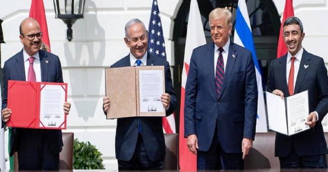 البيت الأبيض : نصوص الاتفاقيات بين الإمارات والبحرين وإسرائيل لم يذكر فيها الدولة الفلسطينية