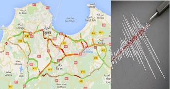 رجة أرضية بقوة 4.8 درجات تضرب الجزائر