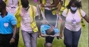حكم مباراة الكوت ديفوار وأثيوبيا يتعرض للإغماء و الحكم الرابع لا يكمل اللقاء