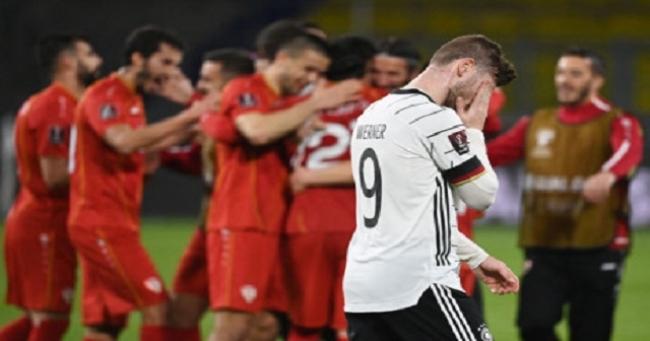 هزيمة مدوية لمنتخب ألمانيا يقابلها فوز تاريخي لمقدونيا الشمالية في تصفيات المونديال