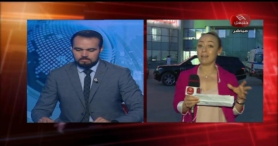 من أمام أحد المصحات بالعاصمة موفدة الأخبار : الحالة الصحية لنبيل القروي بعد الإفراج عنه