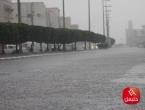 أمطار غزيرة يومي الثلاثاء والأربعاء مع تساقط البرد